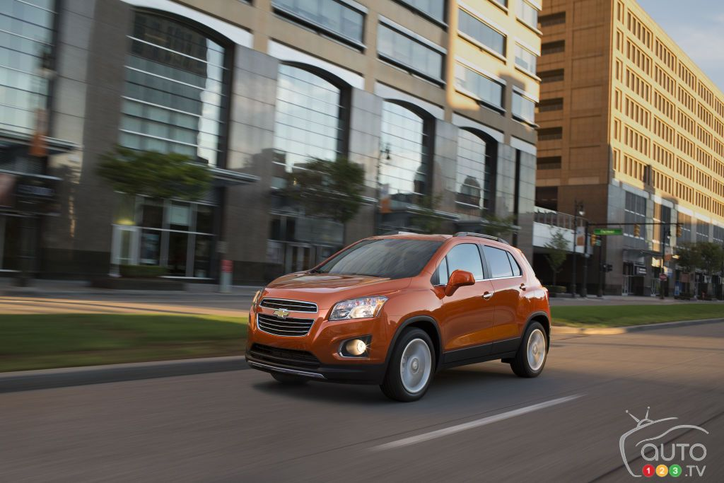 Nearly 30,000 Chevy Trax, Spark, Sonic vehicles