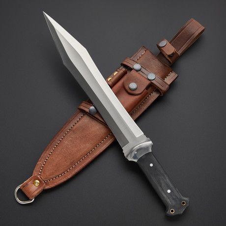Tactical Combat Nightstalker Short Sword Knife Tactical Knives Sword