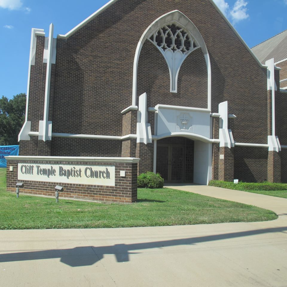 Temple Texas Traditional Home: Cliff Temple Baptist Church Nearby Texas Theatre~