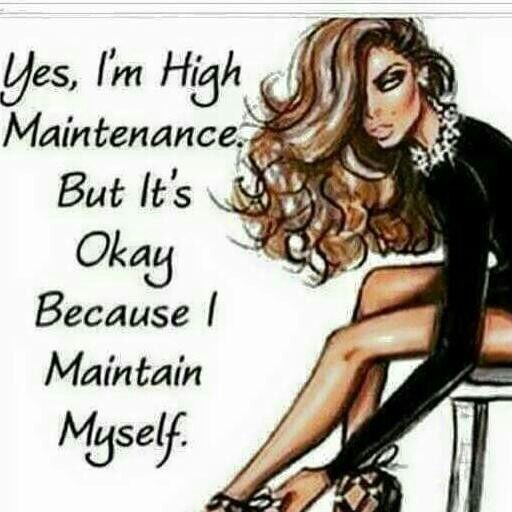 Maintain yourself!