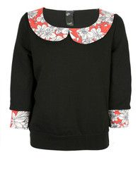 Ella Sweater I made for TRAIDremade