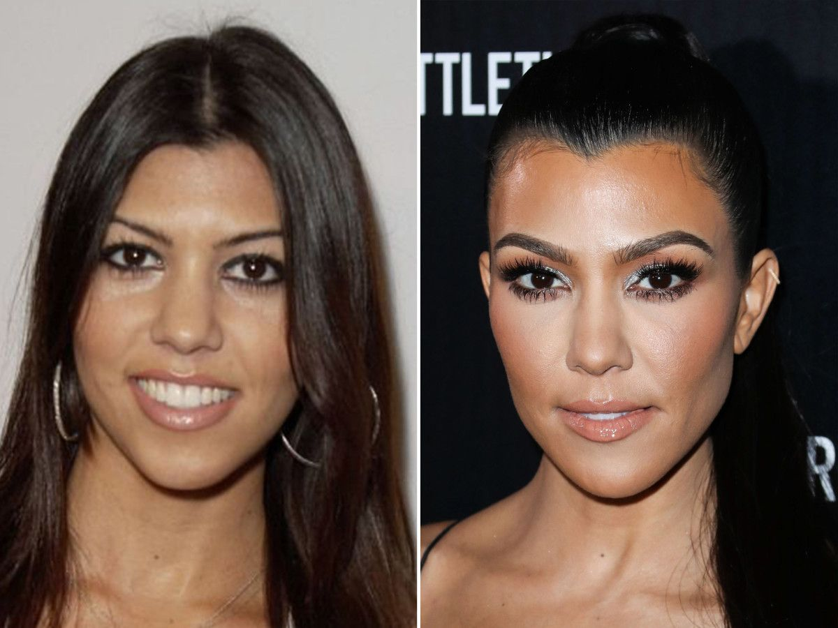 Kourtney Kardashian, Before and After | Kourtney kardashian ...
