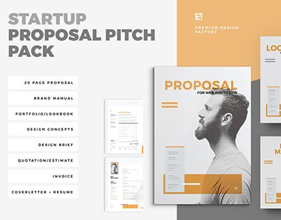 Check Out New Work On My Behance Portfolio Startup Pitch
