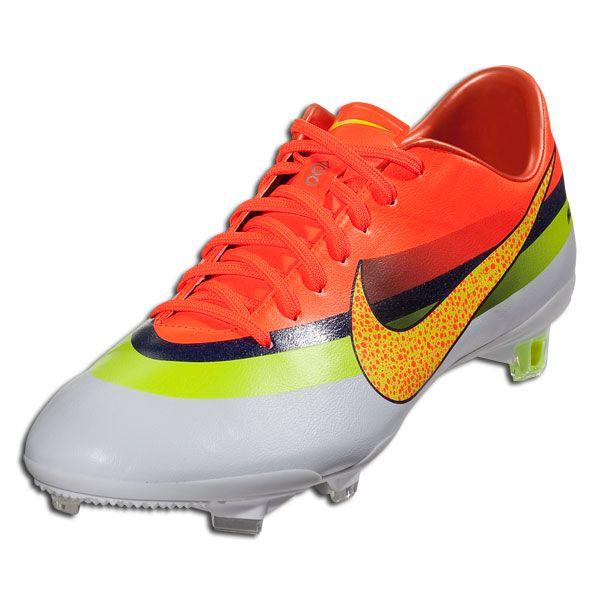 huge discount a7bd3 570fc Nike Mercurial Vapor IX CR FG - White Volt Total Crimson Firm Ground Soccer  Shoes