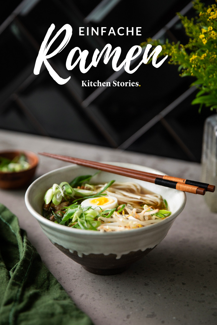 Simple ramen (Japanese noodle soup with chicken) Recipe with video | Kitchen stories-#chicken #hamburgermeatrecipes #japanese #kitchen #mushroomrecipes #noodle #pioneerwomanrecipes #ramen #ramennoodlerecipes #recipe #sausagerecipes #simple #Soup #stories #tacorecipes #thairecipes #video #whole30recipes- This #Varition out #Shoyu Ramen is in #Tokyo most common and based on broth flavored with soy sauce. For a special taste, use mild Japanese soy sauce and round off the dish with a pinch of Shich