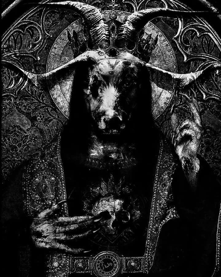 Pin by Michelle Baresh on Devilry | Satanic art, Evil art