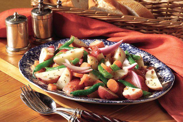 Tuscan Vegetable Potato Salad