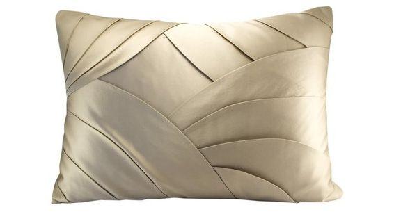 Deco layers Cushion. / Inspiración. Cojín drapeado. Hay que intentarlo.