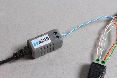Wire Cctv Cameras Using Cat5 Cable Cable Cctv Camera Camera