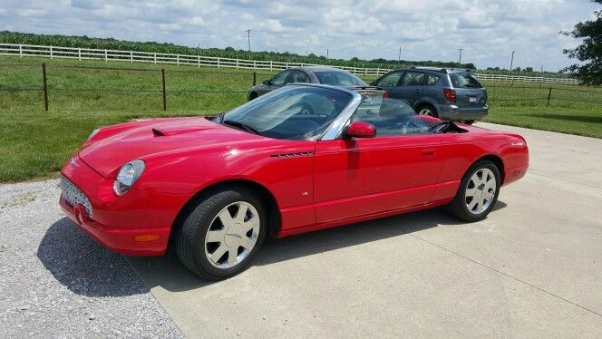 My 2003 Ford Thunderbird convertible