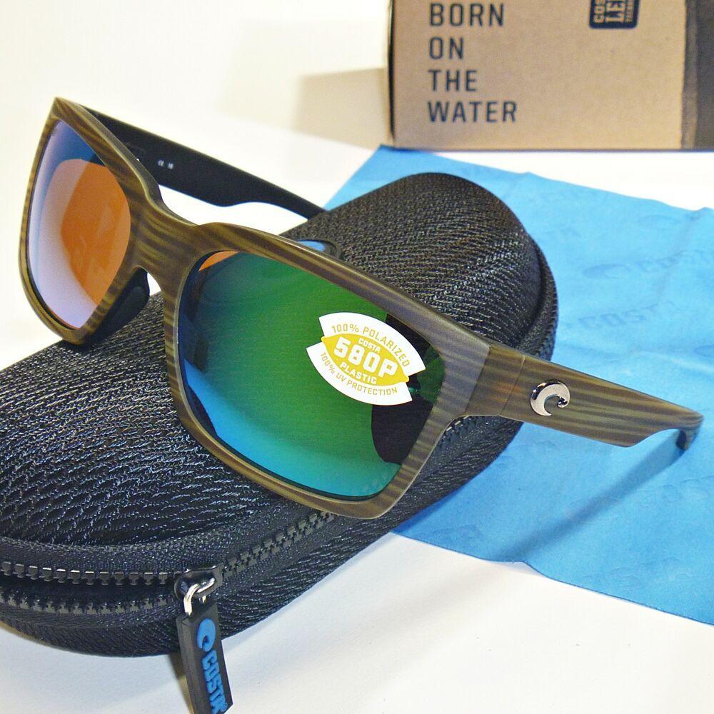 e139a83c7716 Costa Del Mar Playa Polarized Sunglasses-Matte Verde Teak/Green Mirror 580P  Lens #affilink #polarizedsunglasses #womensunglasses #mensunglasses ...