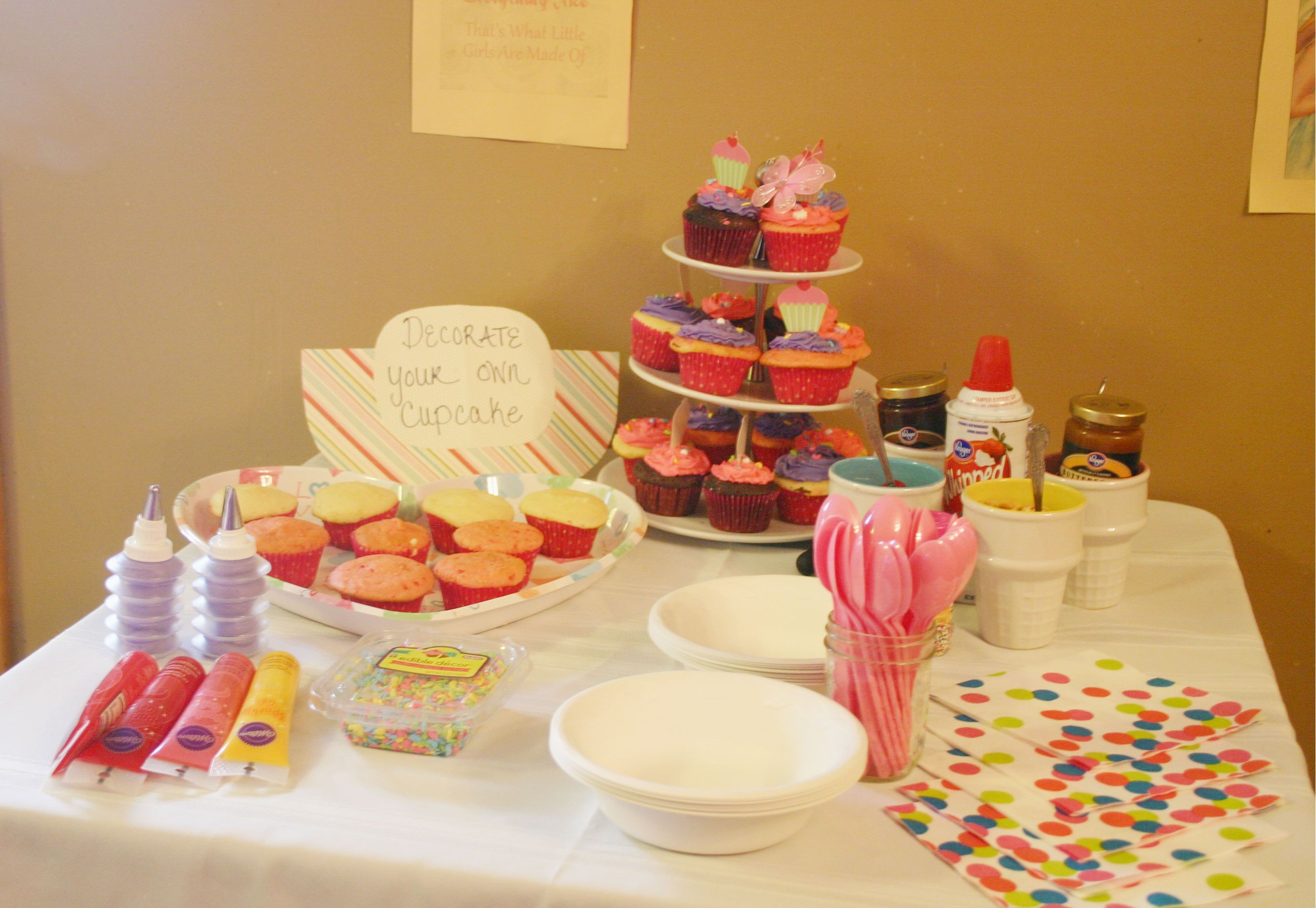 decorate your own cupcake u0026 ice cream bar sugar u0026 spice cupcake