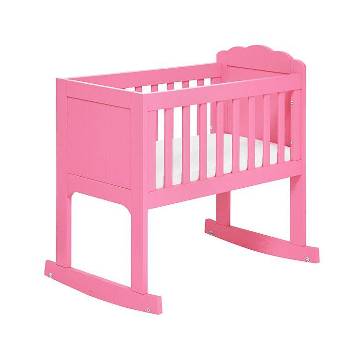 lief! lifestyle roze meisjes wiegje | fuchsia girls crib
