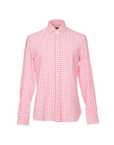 PIOMBO Men's Shirt Pink 15 ¾ inches-neck