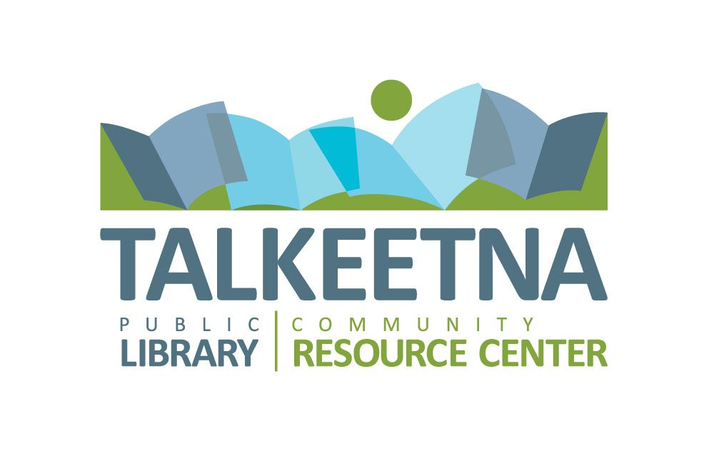 Talkeetna Public Library and Community Resource Center. Logo design. Donation.