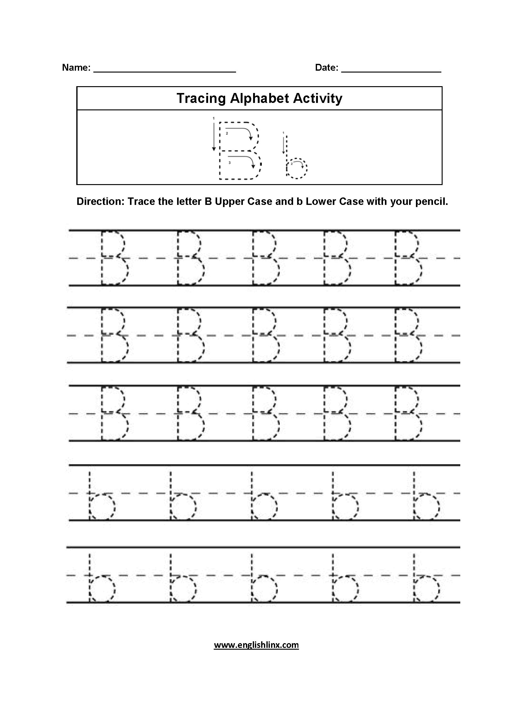 5 Alphabet For Kids To Trace Worksheet In 2020 Alphabet Worksheets Alphabet Practice Worksheets Alphabet Tracing Worksheets