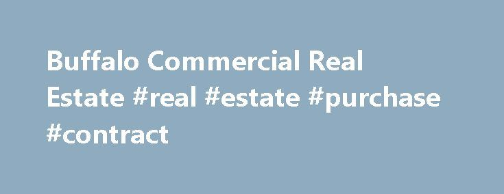 Buffalo Commercial Real Estate Real Estate Purchase Contract