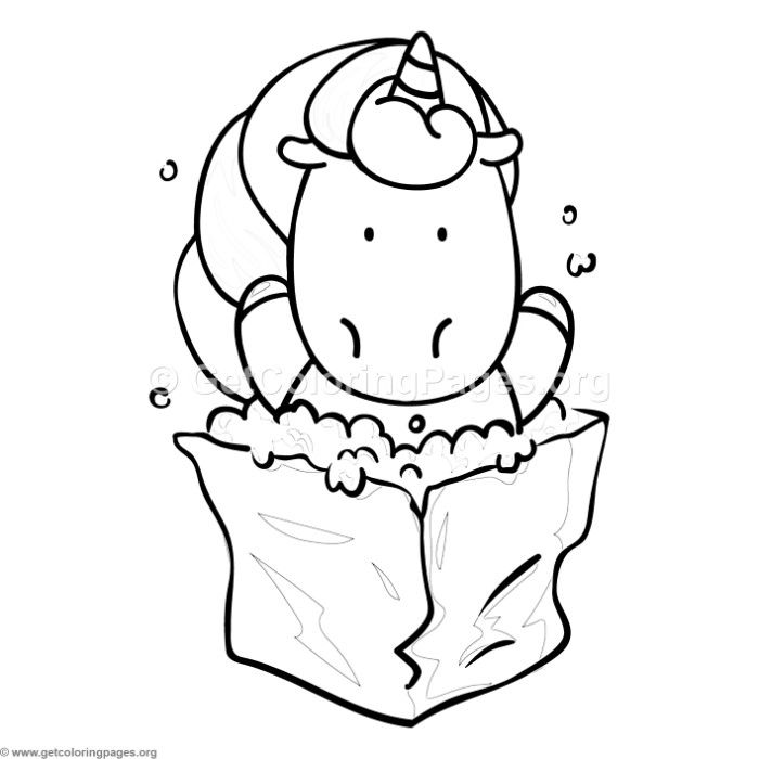 Free download Unicorn and Popcorn Coloring Pages #coloring ...