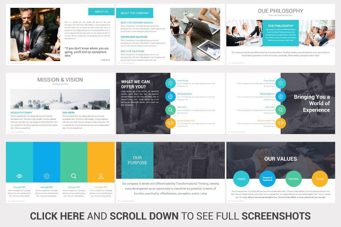 Investors PowerPoint Pitch Decks by SlideSalad on