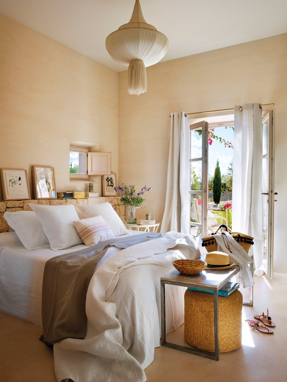 Renovar las cortinas c mo elegirlas para acertar interiores pinterest cortinas elegi y - Estores habitacion matrimonio ...