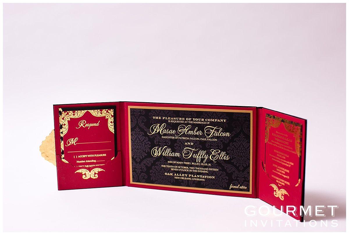 Velvet Wedding Invitations | FOIL PRINTING FOR INVITATIONS ...