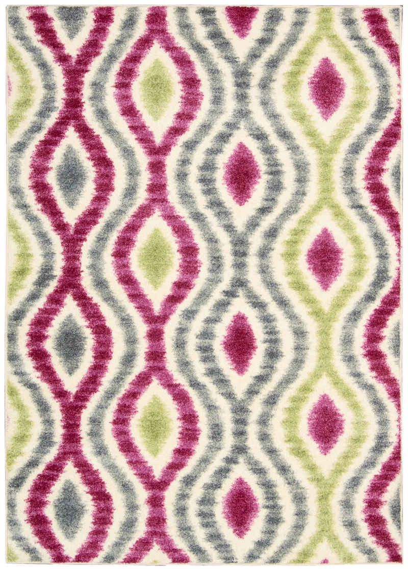 Nourison Rugs Waverly Aura of Flora AOF01 Jazzberry