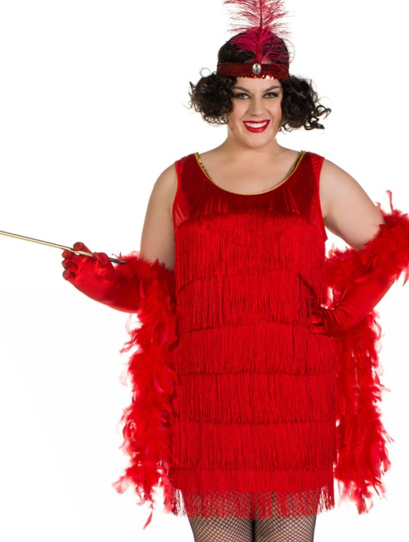 710cddfa174ad Gatsby Party - red plus size costume http   www.heavencostumes.com