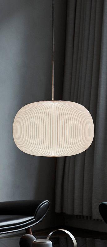 Suspension Lamella 3 blanc LED ˜33cm H29cm Le Klint