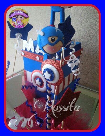 Fofulapiz Capitan America.