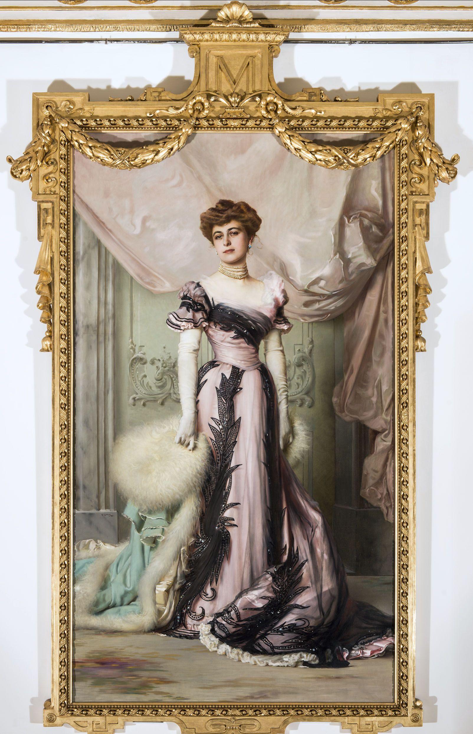 Vittorio Corcos, Contessa Carolina Sommaruga Matteini, 1901, Fondazione per l'Istituto Svizzero di Roma