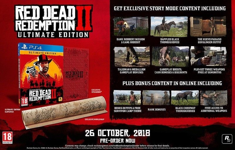 Red Dead Redemption 2 Ultimate Edition Microsoft Xbox One 2018 Reddeadredemption Gaming Xboxone Red Dead Redemption Redemption Read Dead