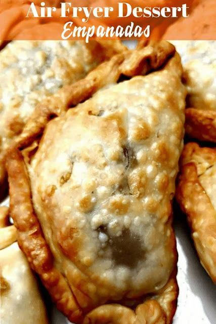 Air Fryer Apple Cinnamon Dessert Empanadas airfryer recipes good