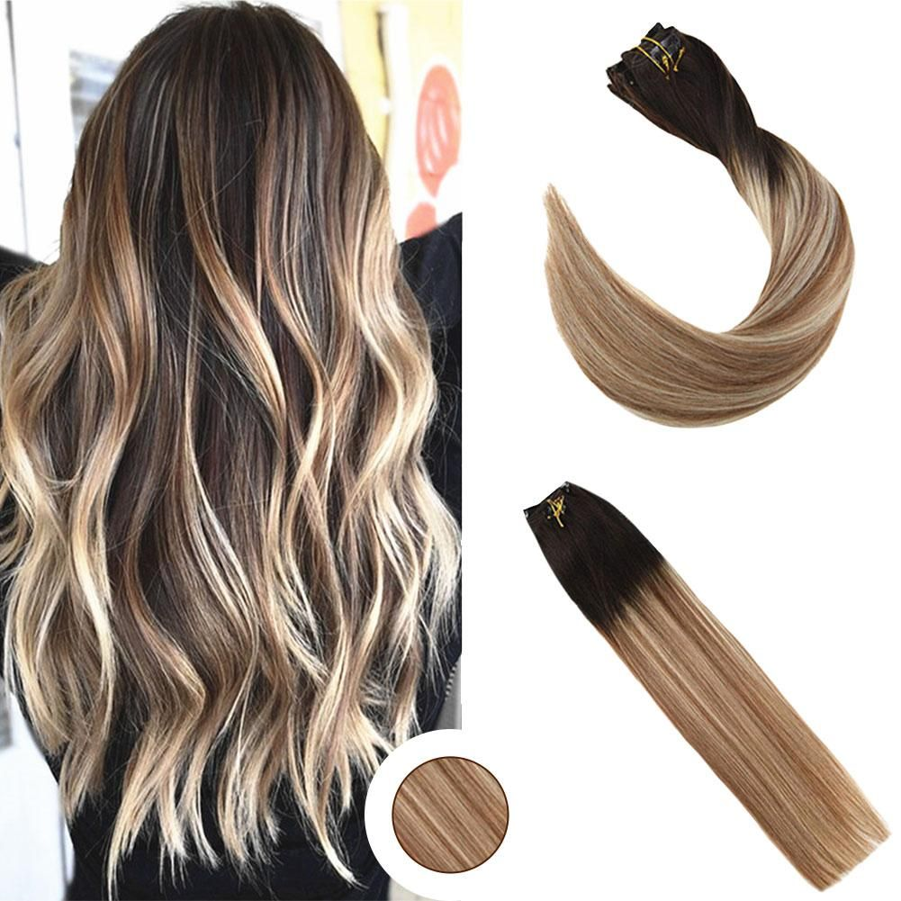 Ugeat Nail Tip Hair Extension U Tip Human Hair Platinum Blonde #60 50g Straight