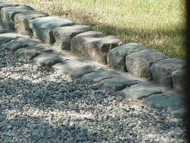 great garden edges with granite
