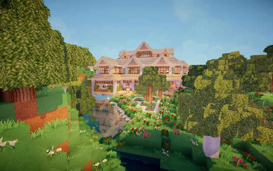 Flower Forest 2 Story House Creation 7312 Minecraft