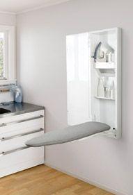 foldaway ironing board. laundry or walkin?