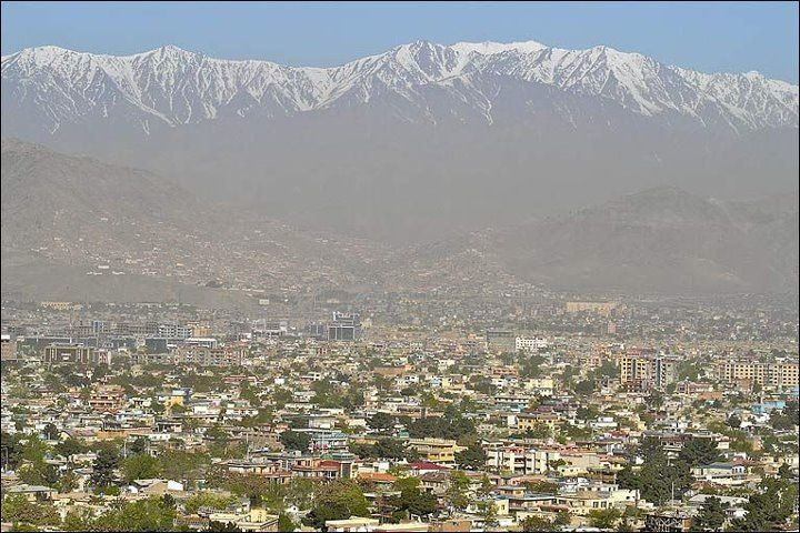Kabul Afghanistan with mountain range in the background. | Places around  the world, Beautiful places, Around the worlds