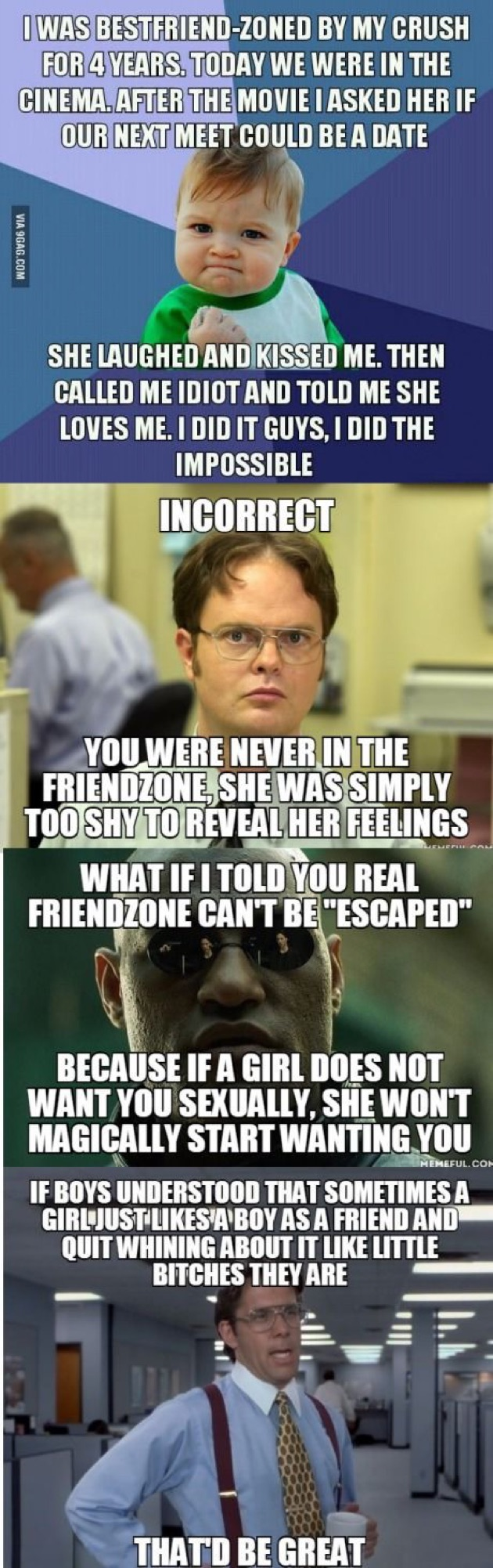 Friendzoned Just For Laughs Friendzone Cold Hard Truth