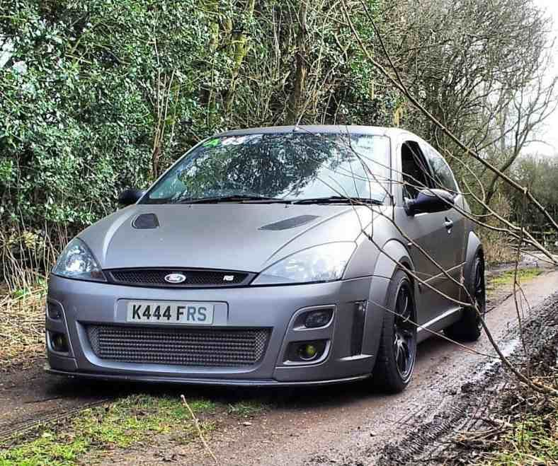 Matte Grey Mk1 Focus Rs Ford Focus Wagon Ford Focus Ford Focus Rs