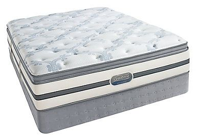 King Simmons Beautyrest Recharge Independence Plush Pillow Top