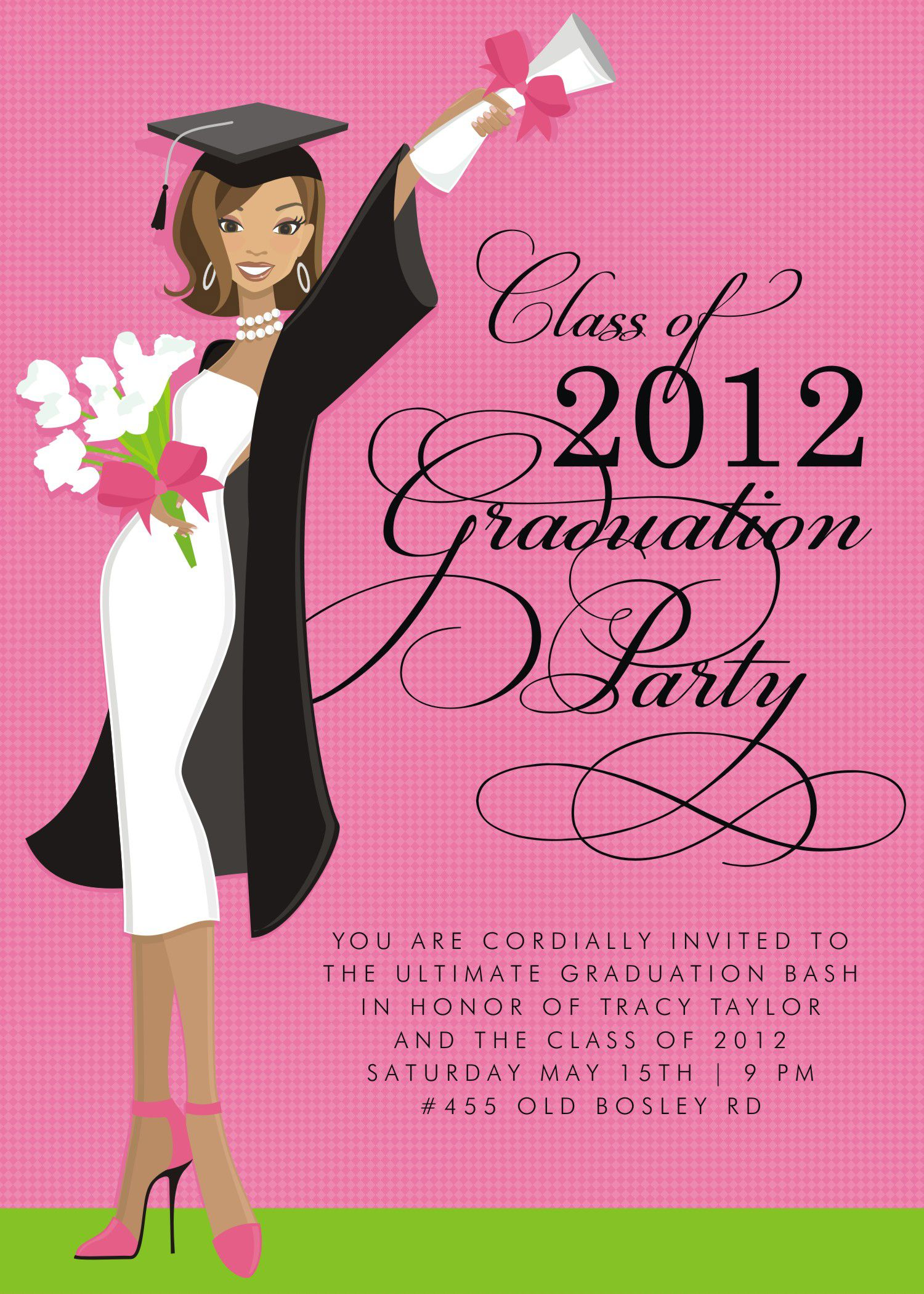 college graduation party announcements - Google Search | Crafts ...