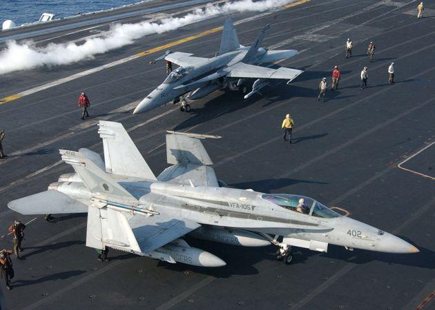 Fighter F/A-18 hornet