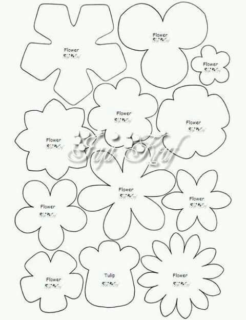 6b49419a8311e5fdadb9dfb20bbc7a83jpg (480×624) Wedding\/Poroka - flower petal template