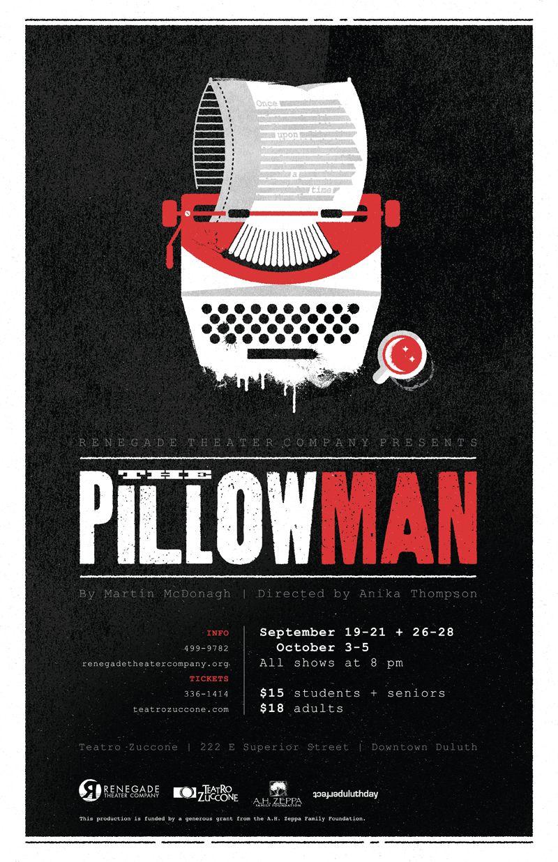 Pillowman Poster Small Jpg 800 1236 Theatre Company Theatre