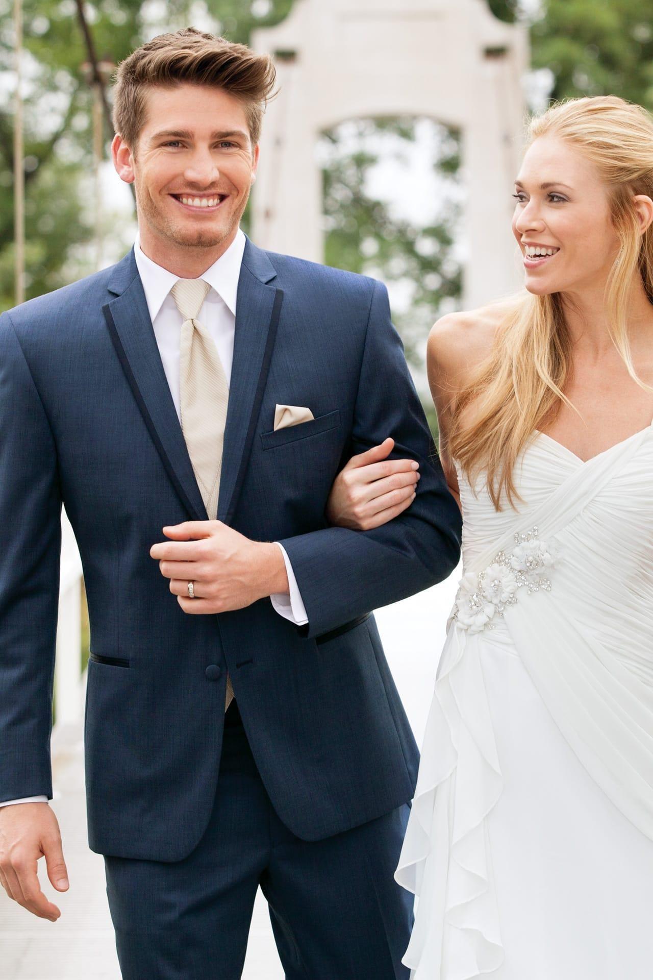 Stephen Geoffrey Slate Blue Aspen Slim Fit Tuxedo | Jim\'s Formal ...