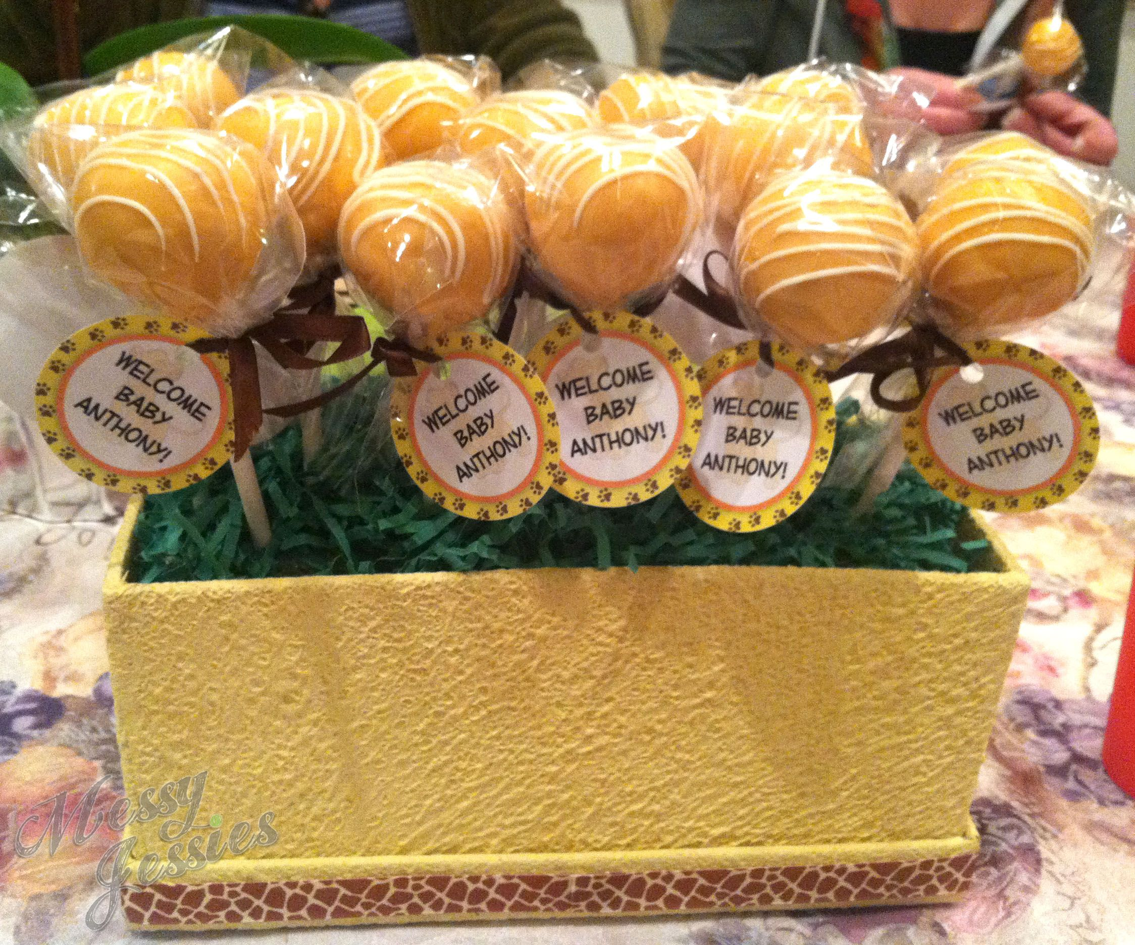 The Lion King Cake Pops Www Messyjessiestreats Com With Images