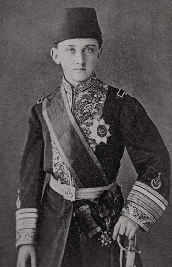 Ottoman Empire Prince Omar Faruq Effendi şehzade ömer Faruk Efendi