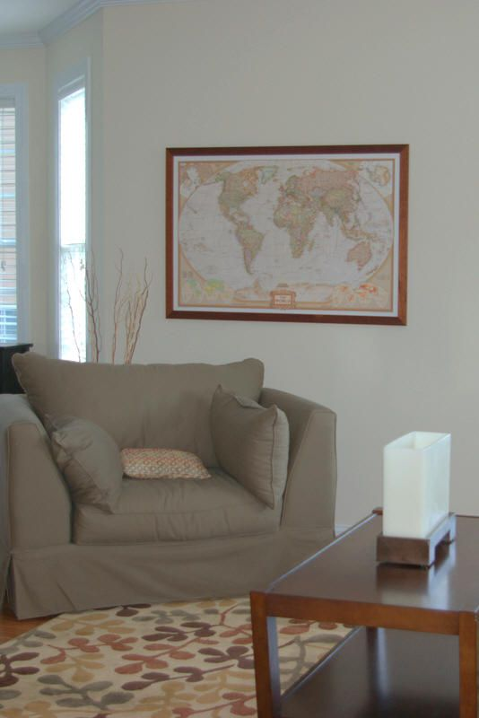 Love this world map with the mahogany frame world maps love this world map with the mahogany frame gumiabroncs Image collections