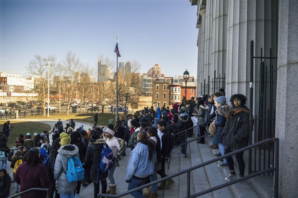 Powerful images of student activism from National School
