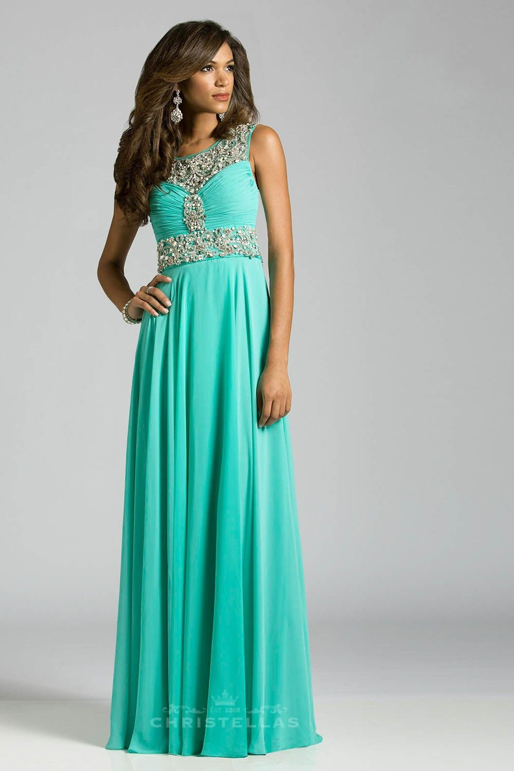 A dress made for an under the sea theme! Lara 42464 Dress / $498 ...
